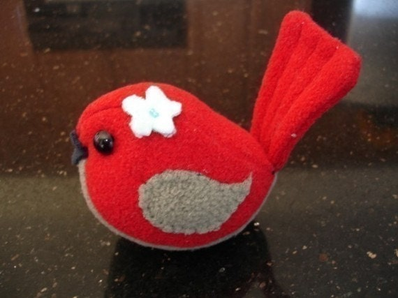 Bird sewing pattern,Stuffed PDF file plush, Style Your Own,Christmas tree accessory,Doll tutorial,Instant Download Plush Toy Tutorial