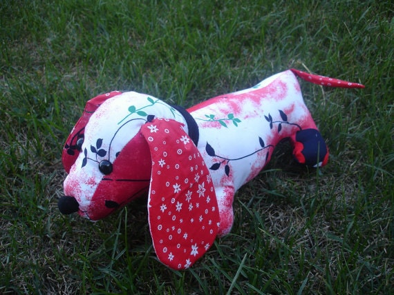Brea Stuffed Vintage Dachshund Pdf Sewing Pattern By