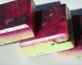 Apple Soap - Exfoliating with Poppy Seeds - Homemade Soap - Bar Soap
