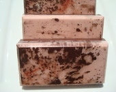 Brown Sugar and Fig Soap - Pink and Brown Soap - Homemade Soap - Pretty Soap - Bar Soap - 1/4 lb Soap - One Quarter Pound Soap