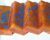 Narcissist Soap - Sunset Soap - Blue, Red, Orange Soap - Egyptian Musk Soap - Artisan Soap - Hoooked Soap - Homemade Soap - Bar Soap