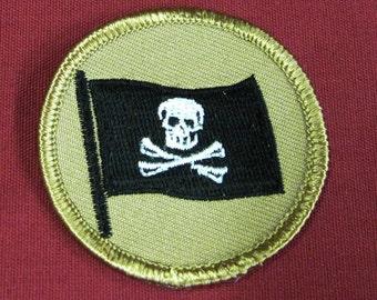 Steampunk airship pirate patch