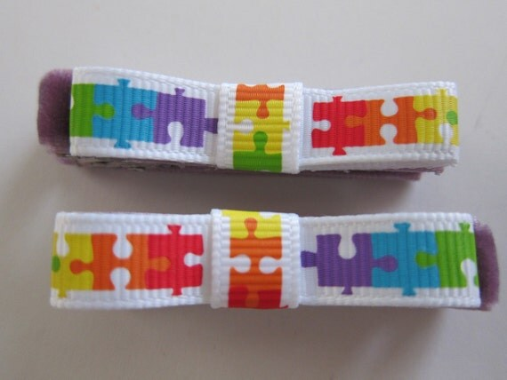 Autism Awareness Clippies - READY TO SHIP