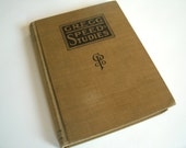 Vintage Gregg Speed Studies Shorthand Book Copyright 1917