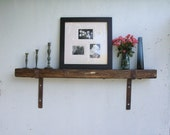 Rustic OAK Fireplace Mantel - lumber from an 1860/70's Gold Mine Camp in the Eastern Sierra Nevada Mountains