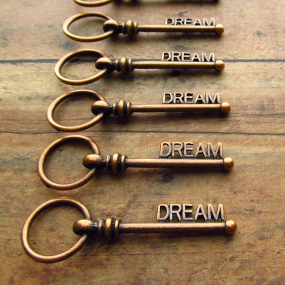 Copper Dream Antique Copper Skeleton Key - Set of 10