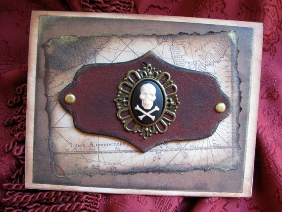 Pirate Greeting Card - The Golden Age of Piracy
