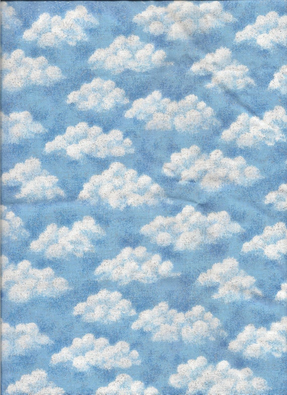 Sparkly Cloud Fabric, 3 yds