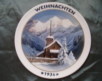 Weihnachten Souvenir Plate