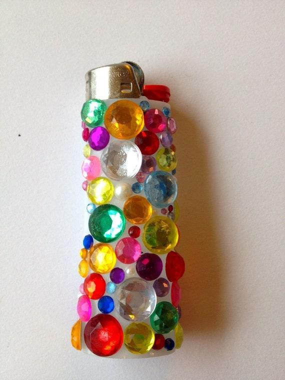 Bejeweled Lighter