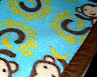 Go Bananas Fleece Cozy - Pet Blanket