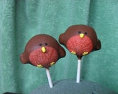 Robin cake pops