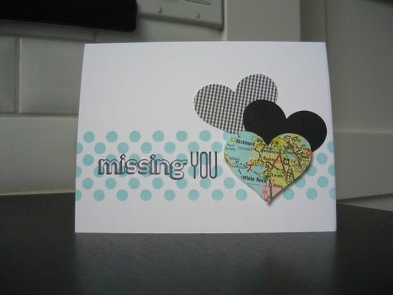 I Miss You Card, Miss You Card