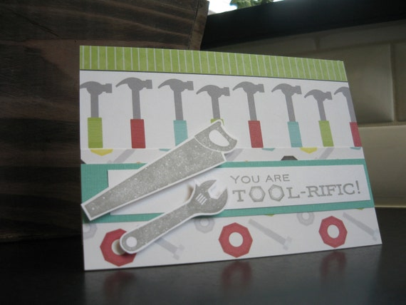 Father's Day Card, Birthday Card for Father, Thank You Card for Father, Card for Carpenter, Handyman or Handylady