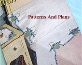 Vintage Patterns for Crocheted pillow Cases, Covers, and Towels