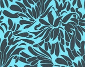 Amy Butler Fabric - Daisy Chain Daisy Bouquet - Indigo - 1 Yard