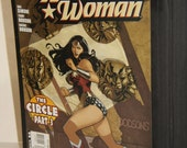 Classic Wonder Woman Composition Comic book covered notebook- Great Action
