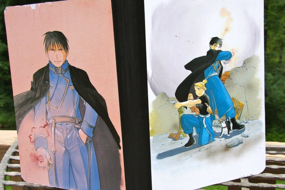 Fullmetal Alchemist  Roy Mustang Composition manga notebook
