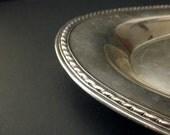 vintage International Silver Co. silverplate dish-serving