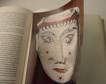 antique book- Crete and Mycenae -ancient Greece, 1960, color plates