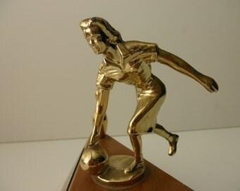 Vintage Trophy 1960s - bowling