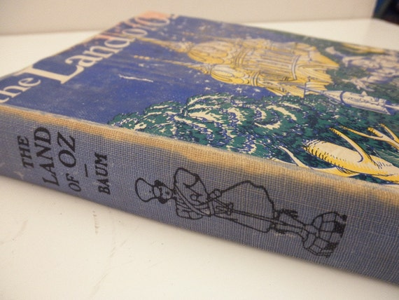 vintage book-The Land of Oz-1930s-rare