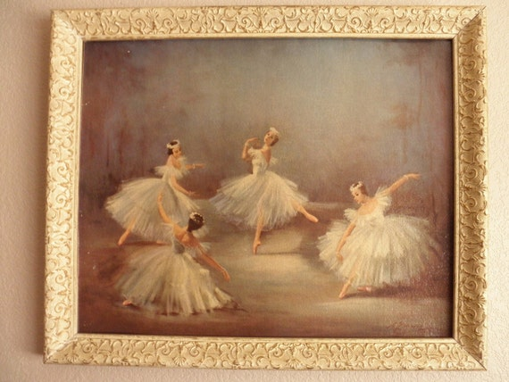 vintage framed reproduction oil painting of ForFramed Reproduction Oil Paintings