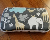 Travel Baby Wipe Case- Zoology- Personalization available