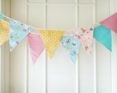 Baby Banners, Baby Bunting, Baby Animals, Lamb, Bunny, Rabbit, Chicken, Polka Dots, Pastel Shade - 3 yards