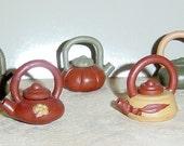 Antique Miniature Teapots Collection