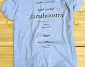 Nietzsche - Book Tee - MEN - Grey - Extra Large