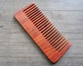 WOOD Hair Comb comfortable size, good health for your hair