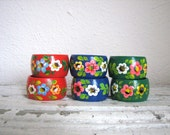 Vintage German Napkin Rings