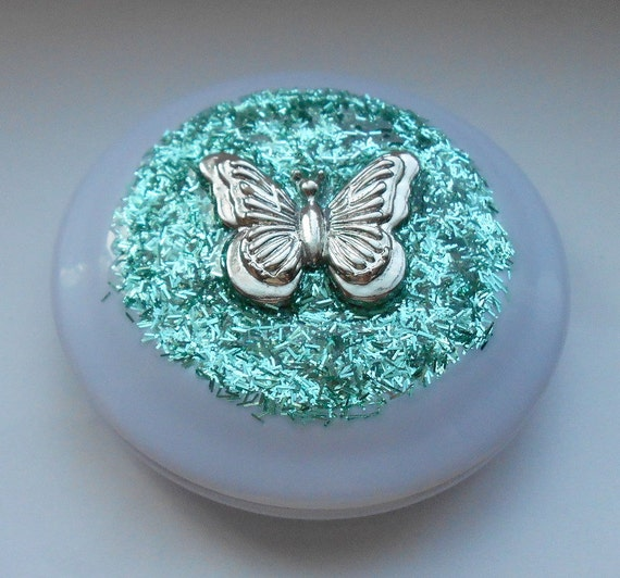Beauty Butterfly- Glamour Girl Compact Mirror
