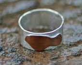 Sterling Silver and Copper Maui Ring