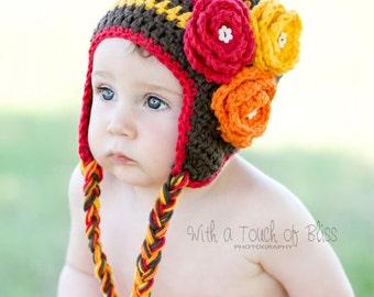 Autumn Bloom Hat