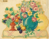 "Vintage Eagle Transfer ""Famous Artists Series"" -  Kitchen Table No. 216"