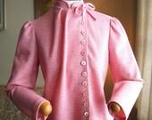 Dapper Pink Herringbone Jacket
