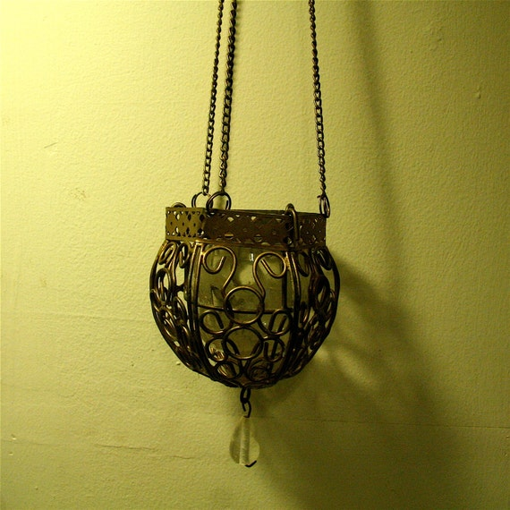 Hanging Moroccan Tea Light Candle Holder