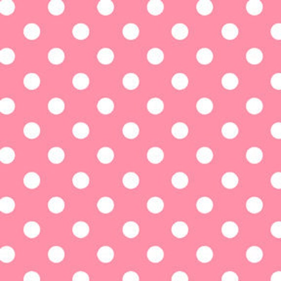 Michael Miller - Dot To Dot in Pink - By The Yard (LOW STOCK)