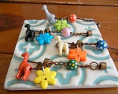 Pop-O-Color Giraffe Wine Glass Charms-Great Holiday Gift Idea-Set of 4-Ready to Ship