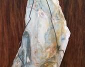 """Rare """"Gary Green"""" Jasper Wall Hanging"""