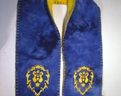 Hand Embroidered Alliance Scarf