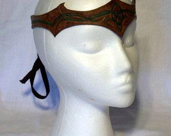 Custom Leather Circlet