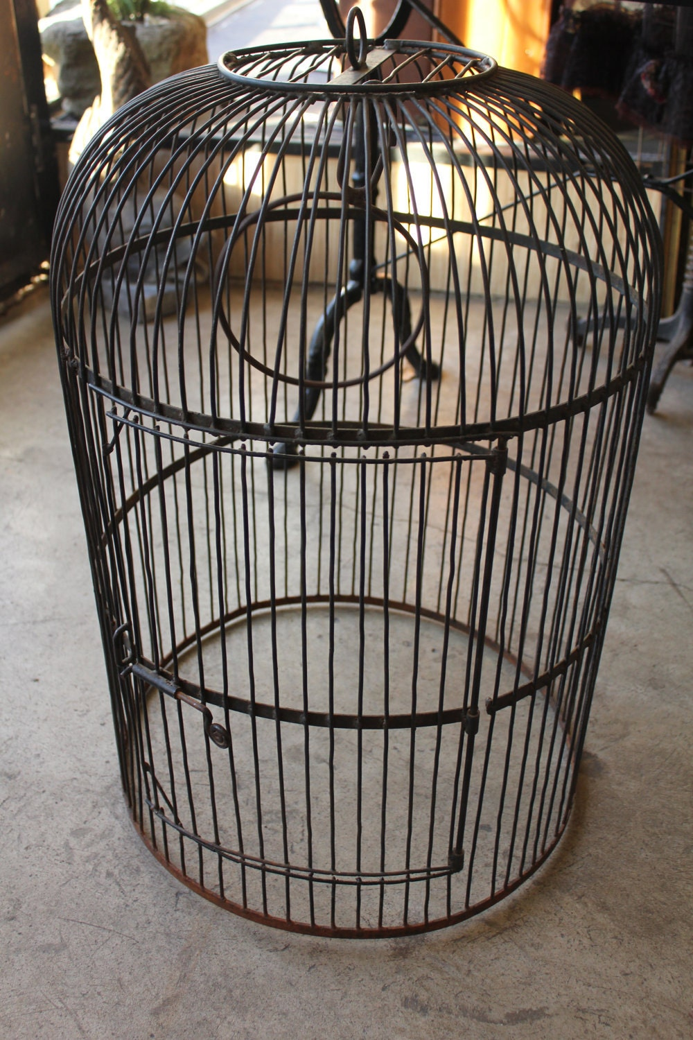 Unique Large Birdcage Ginormous Bird Mansion Vintage Aviary