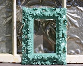 Picture Frame Ornate Jade 4 x 6