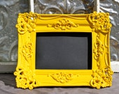 Ornate PIcture Frame Sunny Yellow 5 x 7