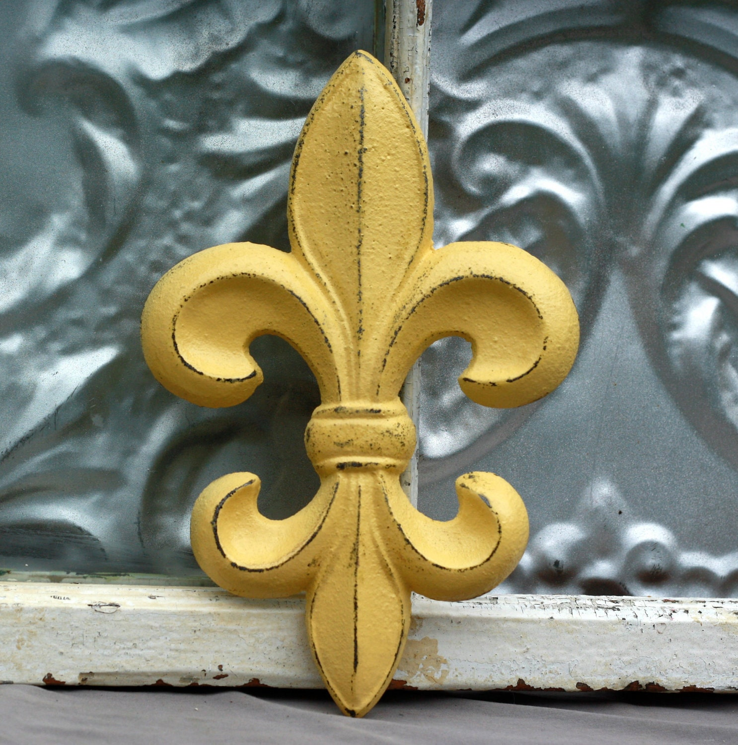 Kitchen Wall Decor/ Fleur De Lis Wall by MichelleLisaTreasure