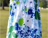 Katie Dress in Blue Jazz