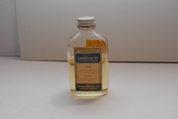 Vintage Camphorated Oil